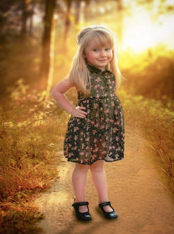 Счастливая девочка фото