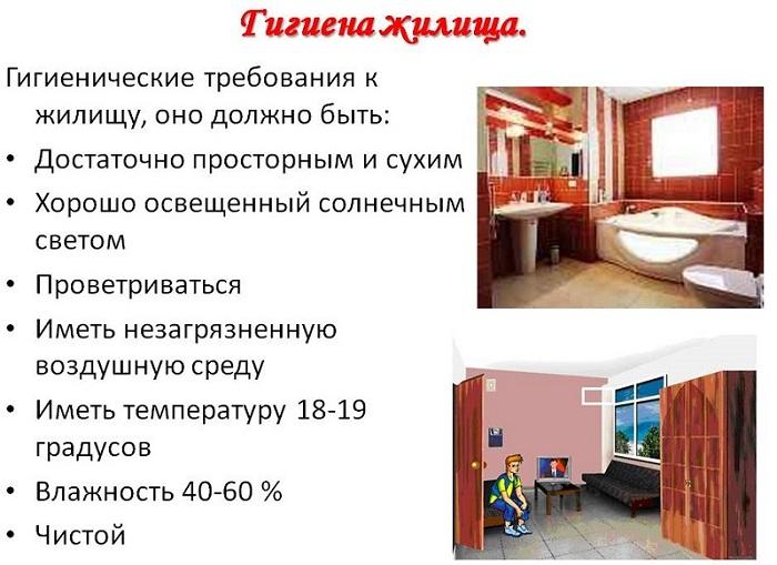 Гигиена жилья фото