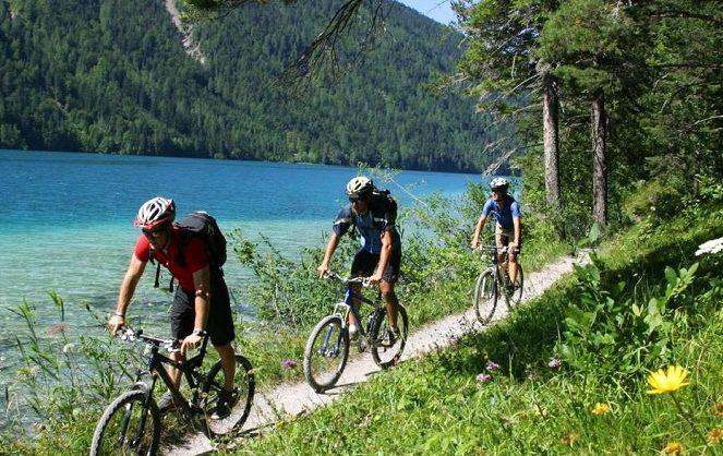Велосипедный отдых фото