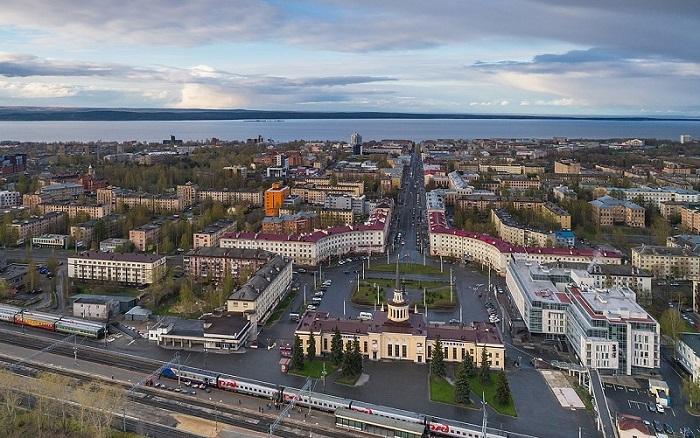 Петрозаводск в Карелии