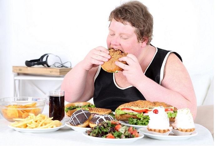 Тяжелая пища для человека фото