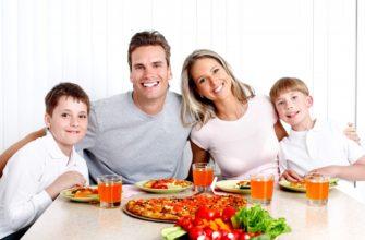 Здоровое питание для семьи фото