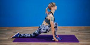 Поза йоги ашванчапасана