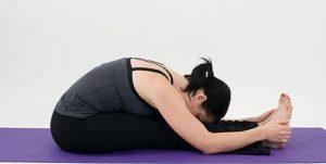 Асана йоги пашчимоттасана фото