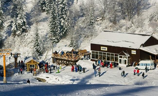 Горные лыжи на Алтае фото
