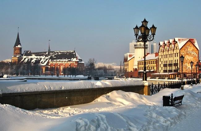 Калиниград зимой фото