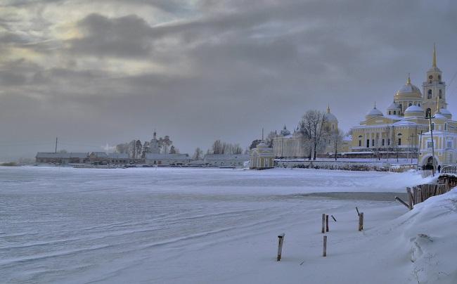 Красота Селигера зимой