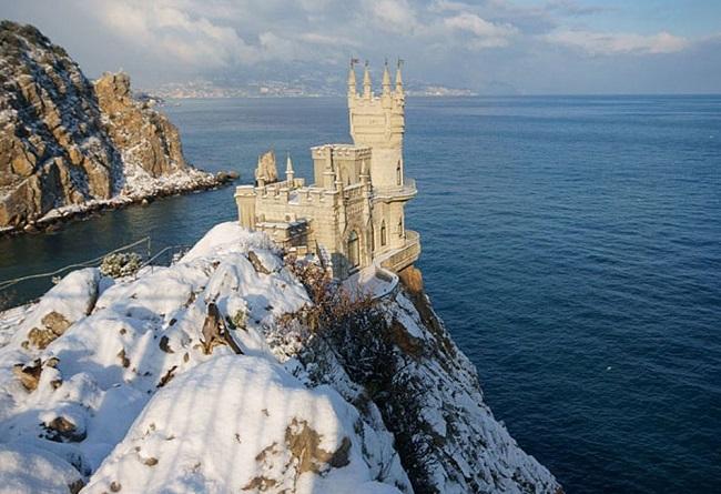 Крым прекрасен даже зимой