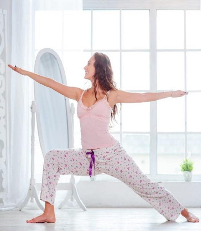 Утренняя йога фото