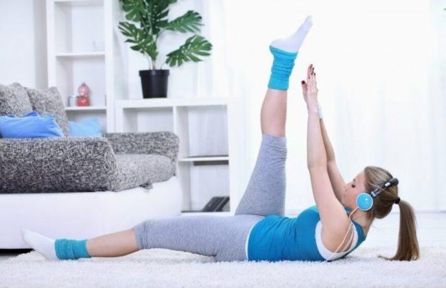 Упражнение для похудения фото