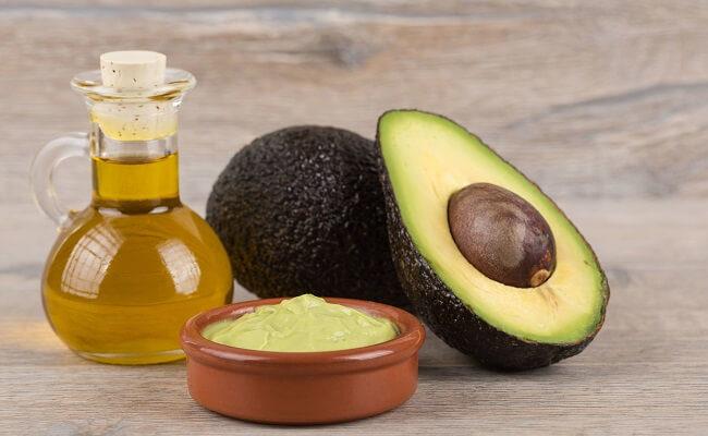 Авокадо с маслом