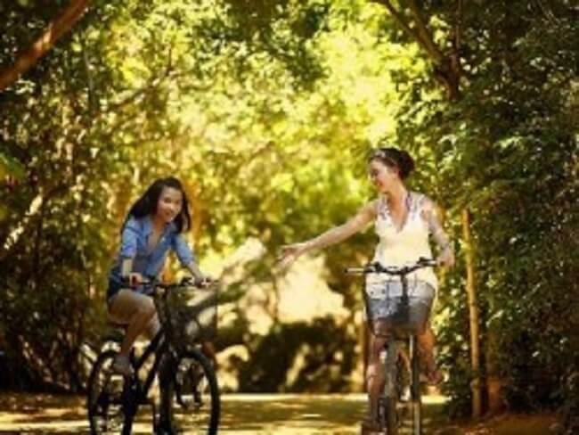 Езда на велосипеде