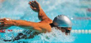 Скоростное плавание в спортзале
