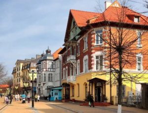 Улица курорта