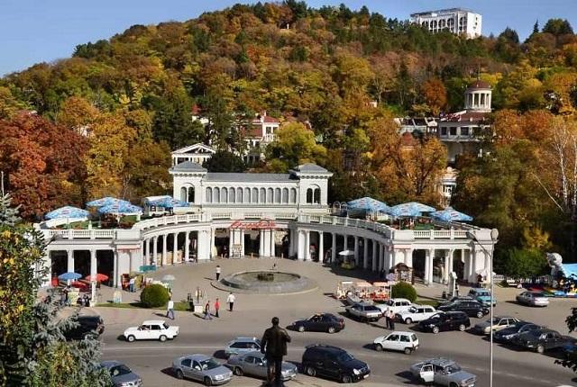 Площадь в Кисловодске