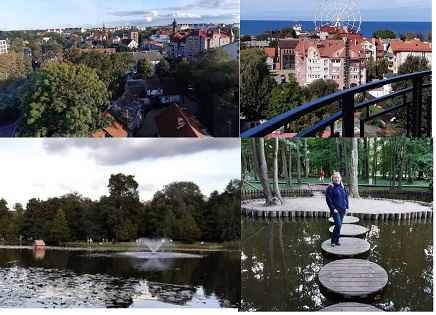 Зеленоградск и парк